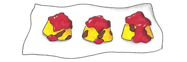 piatto completo polenta tenuta melofioccolo