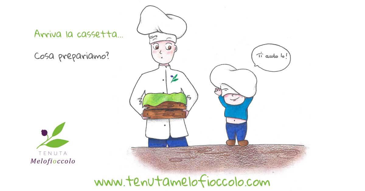 Filetti di sogliola pomodorini olive e capperi tenuta melofioccolo