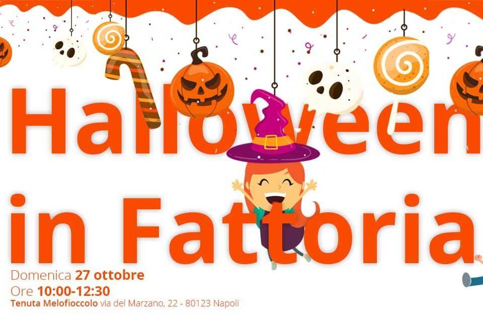 halloween in fattoria 27 ottobre tenuta melofioccolo napoli