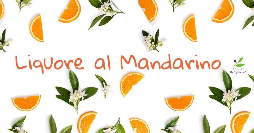 l'immagine presenta la ricetta delliquore al mandarino della nonna tenuta melofioccolo
